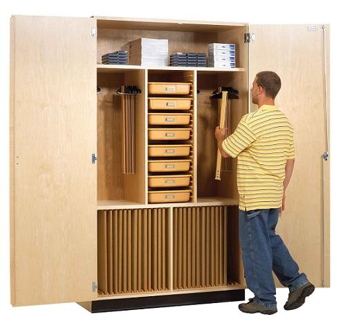 Click here for more Drafting and Art Supply Cabinets by Worthington