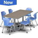 Shop Marco Dual Base Tables + Apex Chair Packaged Sets