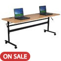 Economy Flipper Folding Training Tables by Balt
