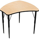 Click here for more Economy Shapes Desk by Mooreco by Worthington