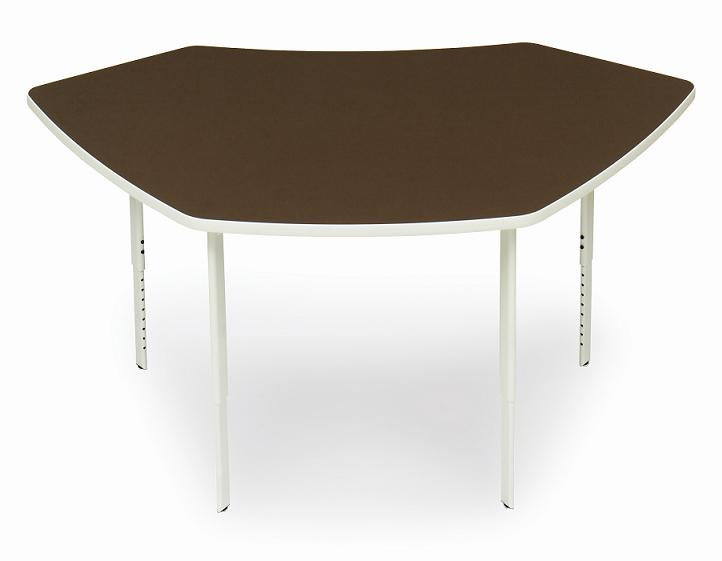 Bretford edussu3 explore 4 leg scale up active learning table w glides - Table glides for legs ...