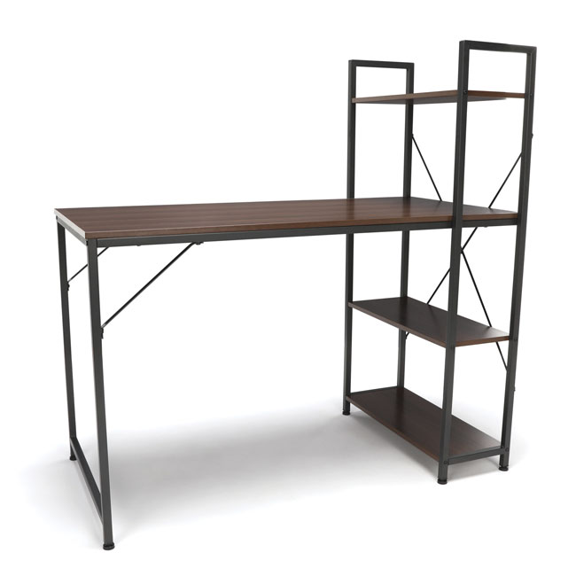 ess-1004-essentials-combination-desk-4-shelf-unit