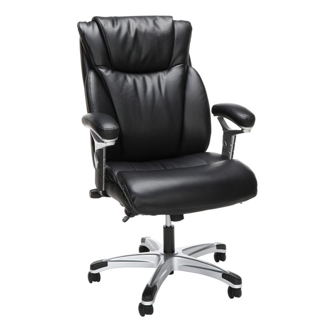 Groovy Essentials Ergonomic Executive Bonded Leather Office Chair Spiritservingveterans Wood Chair Design Ideas Spiritservingveteransorg