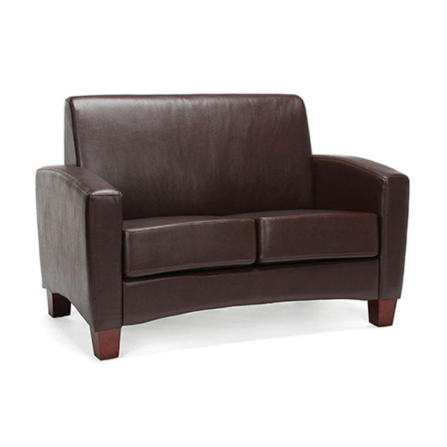 Ofm Essentials Traditional Armed Loveseat Ess 9051