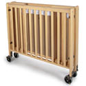 Click here for more HideAway Compact Hardwood Folding Cribs by Foundations by Worthington