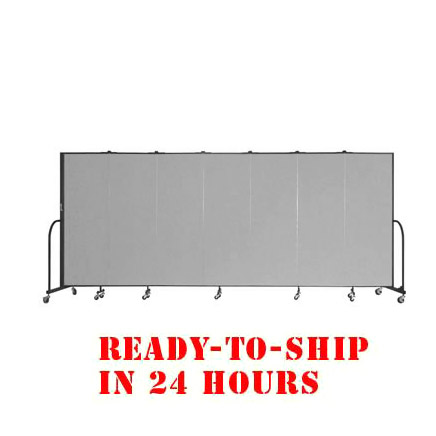 fsl607-dg-7-panel-freestanding-partition-24-hour-quick-ship