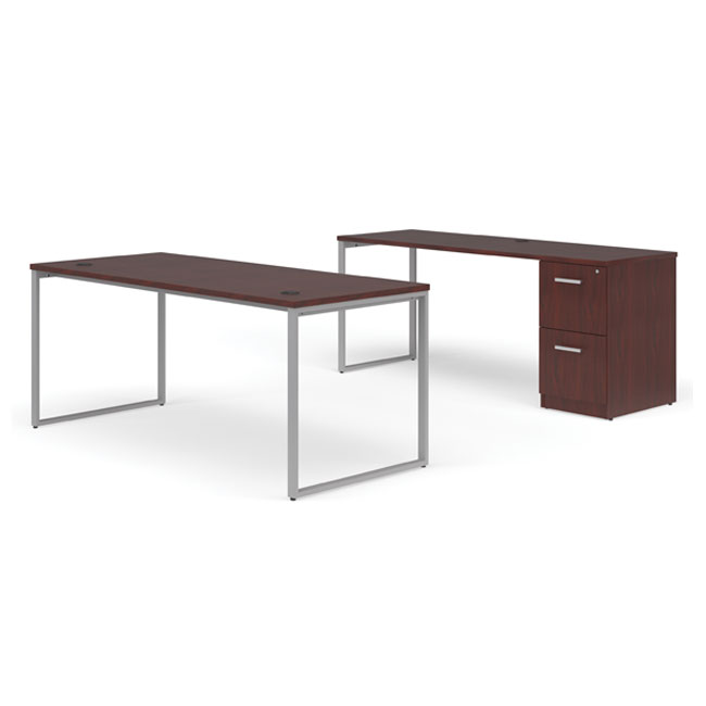 fulcrum-desk-with-credenza-and-pedestal-filing-cabinet-by-ofm