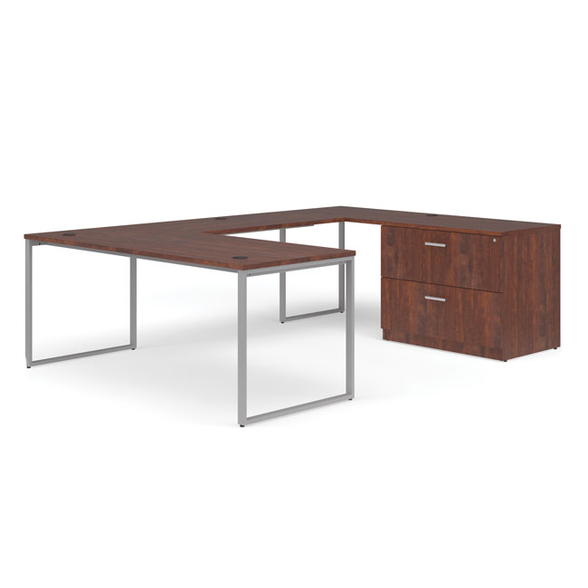 ful-pkg-0069-fulcrum-u-shaped-desk-with-bridge-credenza-and-lateral-filing-cabinet-66-desk