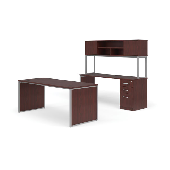 ful-pkg-1083-fulcrum-desk-with-credenza-hutch-and-pedestal-filing-cabinet-72-desk-with-leg-panels-3-drawers