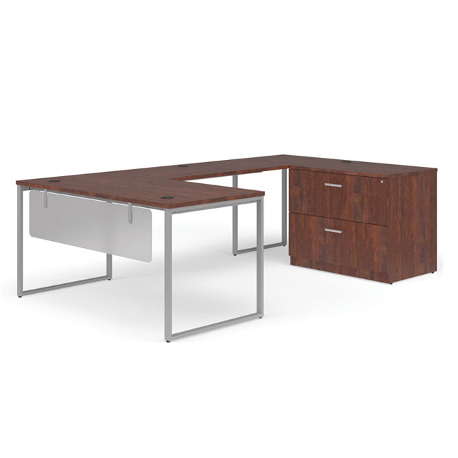 ful-pkg-2072-fulcrum-u-shaped-desk-with-bridge-credenza-and-lateral-filing-cabinet-72-desk-with-modest-panel