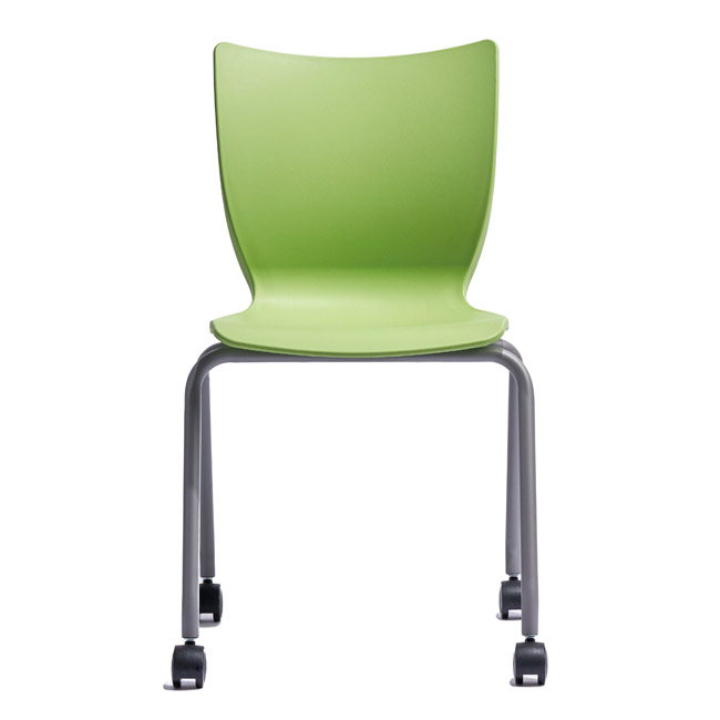 """Smith System Groove Mobile Stack Chair (18"""" H)"""