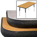 Activity Tables w/ Herculene Sealed Edge by Caprock Furniture
