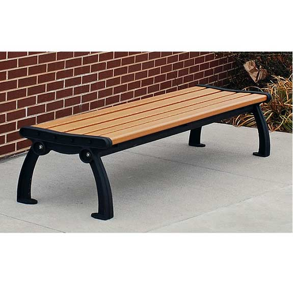 heritage-backless-outdoor-benches-by-jayhawk-plastics