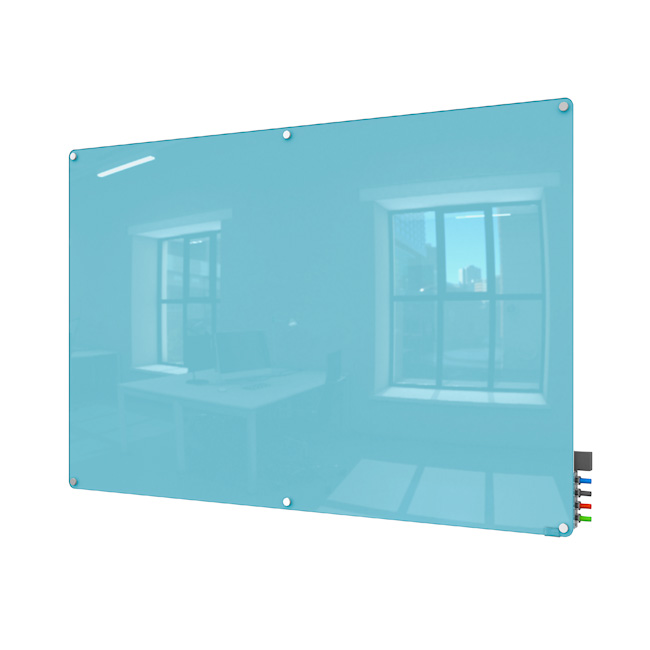 harmony-magnetic-color-glass-markerboards-w-radius-corners-by-ghent