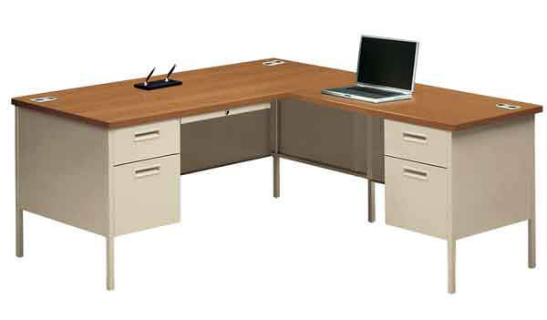 outlet store 0db29 6151a Metro Classic Series Left Desk w/ Right Return