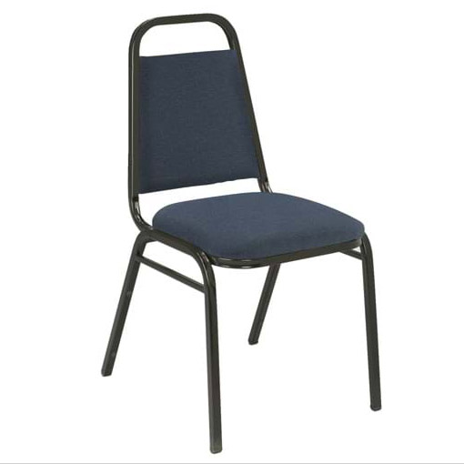 810-standard-fabric-1-dome-seat-stack-chair-with-black-frame