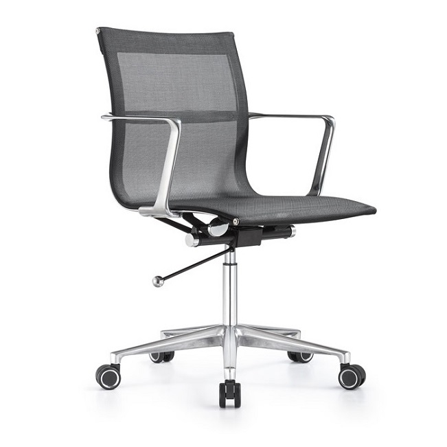 Woodstock Marketing Joan Mid Back Mesh Conference Chair Lt2b Executive Office Chairs Worthington Direct