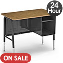 Click here for more Virco 765 Jr Executive Desk Quick Ship by Worthington