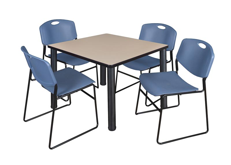 kee-base-cafe-table-and-four-zeng-4400-chairs-by-regency