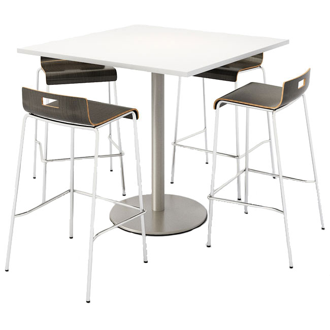 silver-base-cafe-table-with-jive-bistro-height-stack-chairs-by-kfi