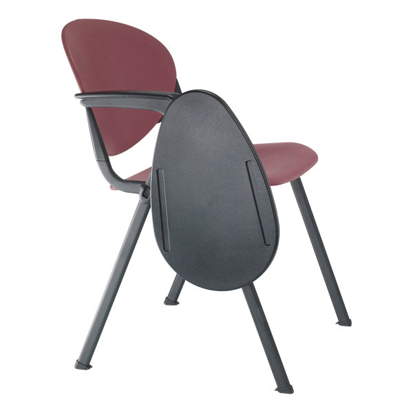 Excellent Kfi Seating 2000 Series Chair With Folding Anti Panic Tablet Alphanode Cool Chair Designs And Ideas Alphanodeonline
