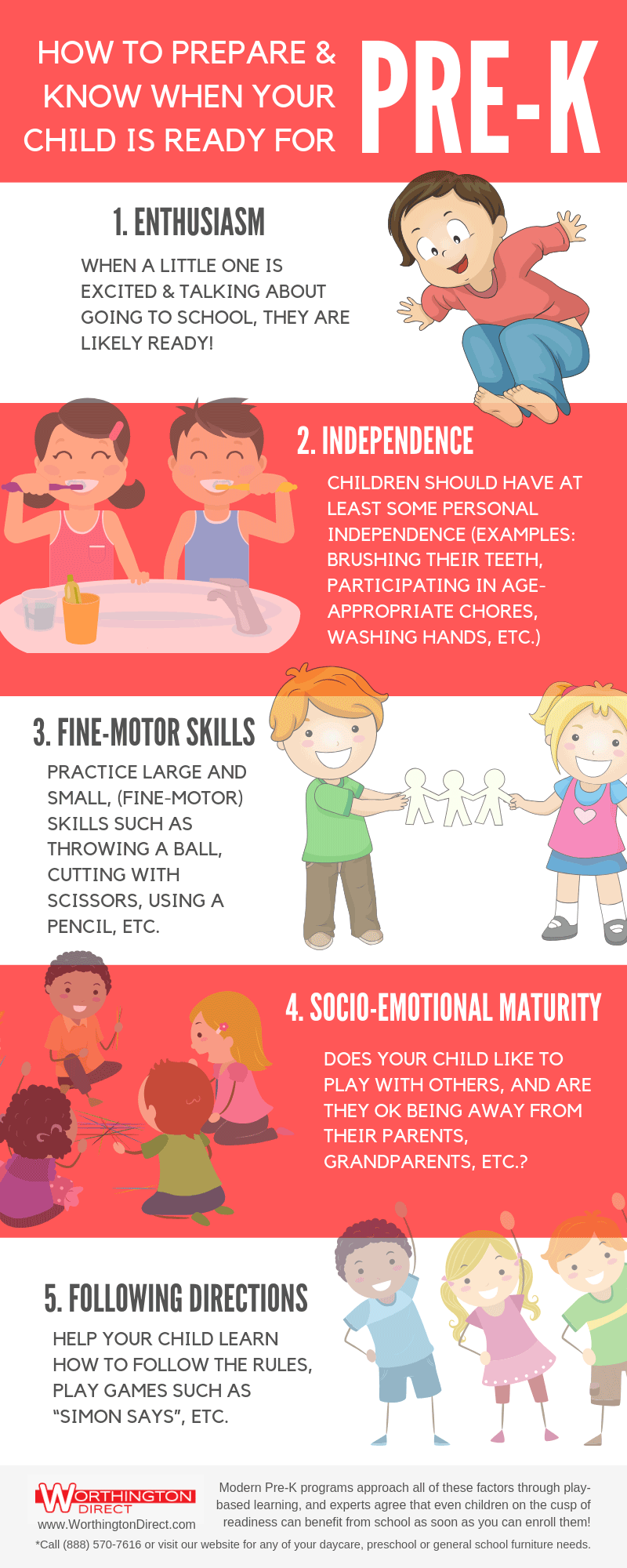 How to Prepare and Know When Your Child is Ready for Pre-K