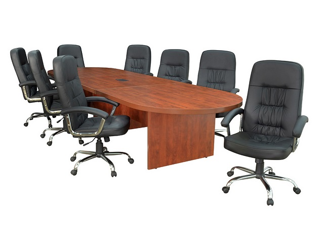 Regency lctrt14452 legacy modular racetrack conference table for 12 person conference table dimensions