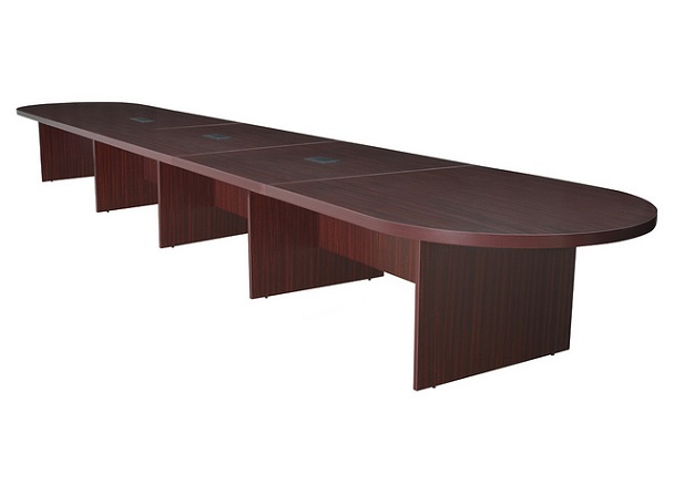 Regency lctrt24052 legacy modular racetrack conference table for 10 person conference table dimensions
