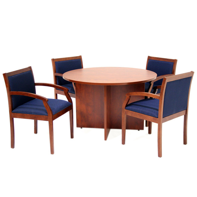 Regency Office Furniture Legacy Round Conference Table 42 Round Lctr42 Conference Tables Worthington Direct