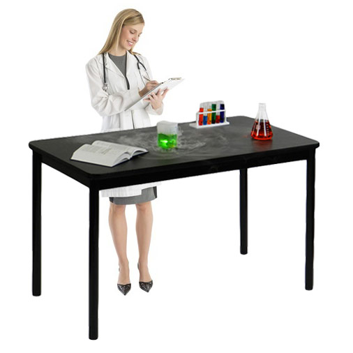 Correll Lt3672 Standing Height Lab Table 36 Quot X 72 Quot