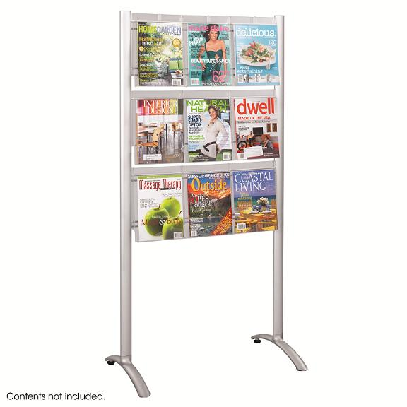 4135-luxe-magazine-floor-rack-9-pocket