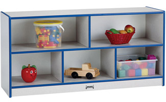 0324jc-toddler-single-mobile-storage-unit-48wx15dx2412h-speckled-gray-waccent-color
