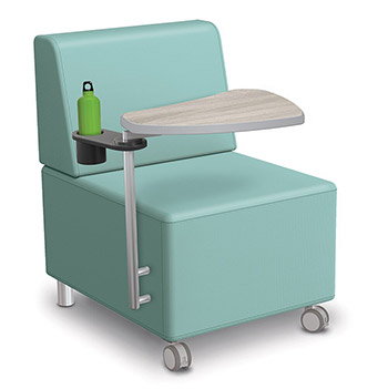 tablet-arm-lounge-chair-w-front-casters