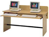 sho150-5934wx2334dx2912h-gray-labmate-twostation-table-wkeyboard