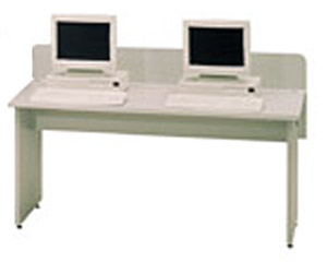 sho160-5934wx2934dx27h-gray-labmate-two-station-table-without-keyboards