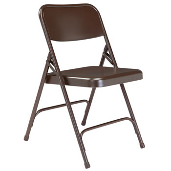 203-brown-18-gauge-steel-folding-chair-with-double-hinge