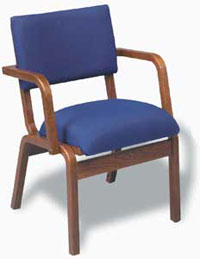 t300atusbr-fabric-oak-frame-arm-chair-with-bookrack