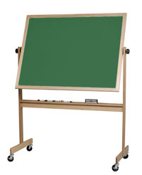 668wgee-doublesided-green-porcelain-chalkboard-with-wood-frame-4-x-6