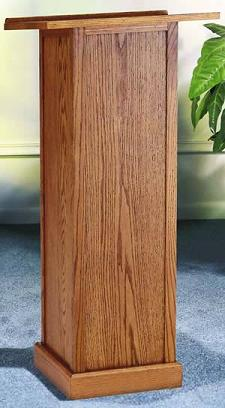 t40p-oak-full-pedestal-wooden-lectern-with-plain-front
