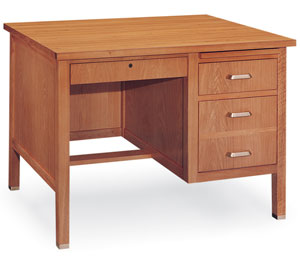 st3042rd-30d-x-42w-oak-single-pedestal-wooden-desk