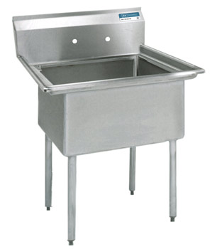 Shain High Quality Stainless Steel Compartment Sinks