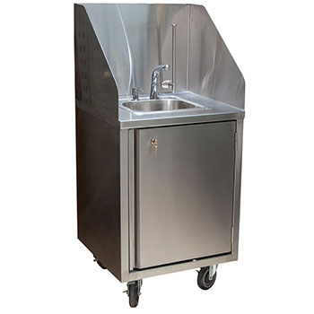 mobile-handwashing-sink-hot-water-sensor