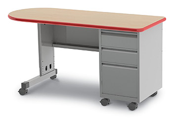 cascade-bullet-teacher-desk-w-single-pedestal-by-smith-system