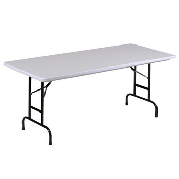 ra3072am-antimicrobial-30-x-72-adjustable-height-gray-granite-plastic-resin-folding-table