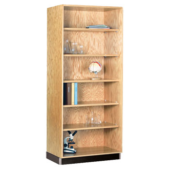 3014822-oak-storage-bookcase-48-w