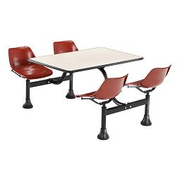1003-cluster-seating-w-laminate-top-30-w-x-48-l