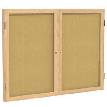 pw23648k-36hx48w-two-door-oak-frame-enclosed-bulletin-board