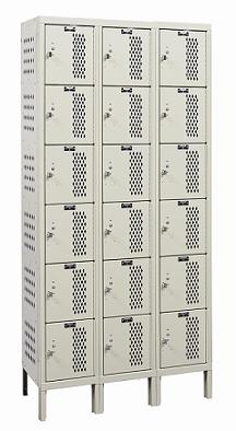 u3228-6hdv-heavy-duty-ventilated-six-tier-3-wide-locker-unassembled-12-w-x-12-d-x-12-h