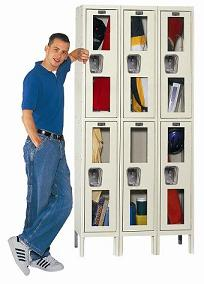 usv32282-safety-view-threewide-doubletier-locker-unassembled-12-w-x-12-d-x-36-h-opening