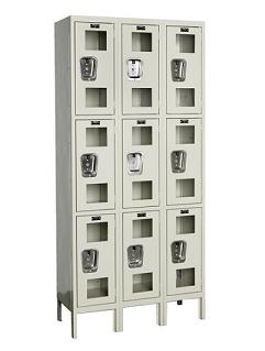 usv32283a-safety-view-threewide-tripletier-locker-assembled-12-w-x-12-d-x-24-h-opening